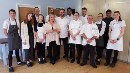 The Suffolk Young Chef of the Year competition is being held at West Suffolk College Picture: DANNY