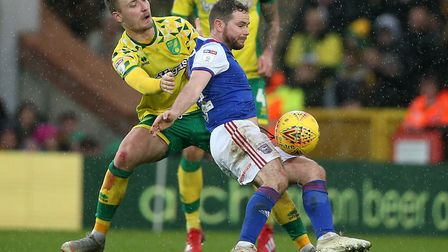 Alan Judge has been given a free role by Ipswich manager Paul Lambert. Photo: Paul Chesterton/Focus