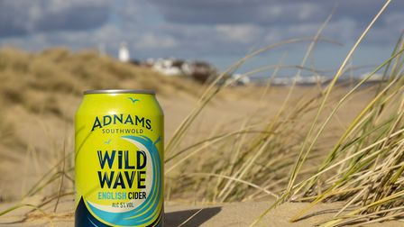 Adnams has launched its first cider - Wild Wave Picture: Sarah Groves