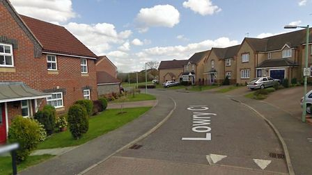 A large amount of fishing gear was stolen during a burglary in Lowry Close, Haverhill Picture: GOOGL