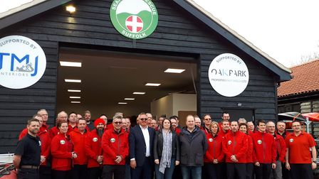 Suffolk Lowland Search and Rescue has officially opened its new building Picture: TIM PASSMORE'S OFF