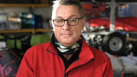 Andy King, Chairman of Suffolk Lowland Search and Rescue (SULSAR). Picture: Neil Didsbury