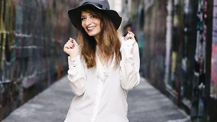 Comedian Shappi Khorsandi who will be inspiring writers and audiences at Halesworth's Ink Festival