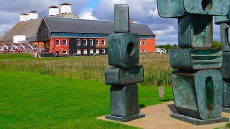 Snape Maltings - home of the Snape Proms throughout August Picture: PHILIP JONES