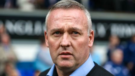 Ipswich Town boss Paul Lambert watches on during the draw with Stoke - Karl Fuller says critics of t