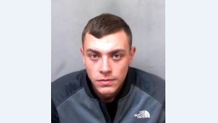 Scott Cotier, 22, of no fixed address, has been jailed for four-and-a-half years Picture: ESSEX POLI