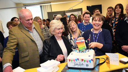 The centre celebrated its tenth anniversary this week Picture: THE SIR BOBBY ROBSON FOUNDATION