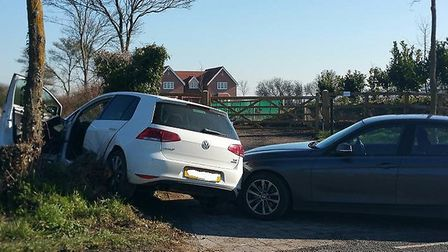 The stolen car was stopped in Colchester after a police sting. Picture: ESSEX POLICE