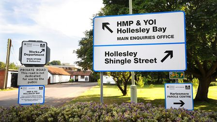HMP Hollesley Bay. Picture: ARCHANT LIBRARY