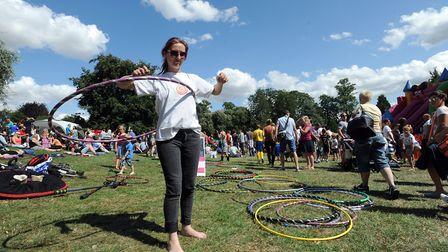 Belle Vue Park in Sudbury has been a hub for community events. Picture: PHIL MORLEY