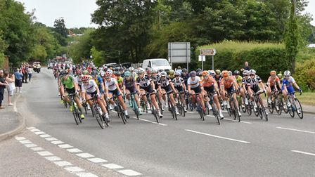 The OVO Energy Women's Tour is returning to Suffolk this summer Picture: JANICE POULSON