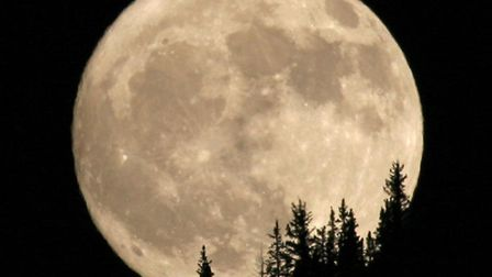 Have you seen the Supermoon yet? Picture: DARSHAM ASTRONOMICAL SOCIETY
