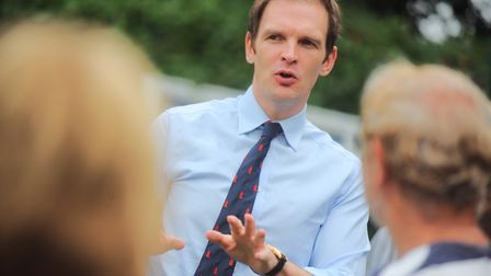 Dr Dan Poulter, MP for Central Suffolk and north Ipswich, said ambulances should only be responding