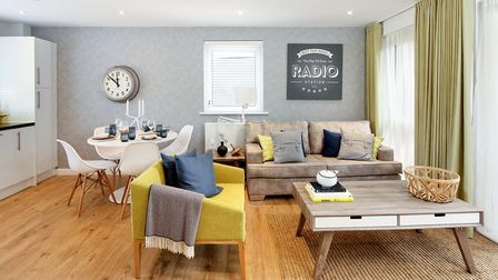 An interior of a typical home provided by the Clarion Housing Group Picture: CLARION HOUSING GROUP