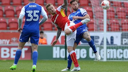 Rotherham claimed four of their 23 points against Ipswich in 2016/17. Photo: Pagepix