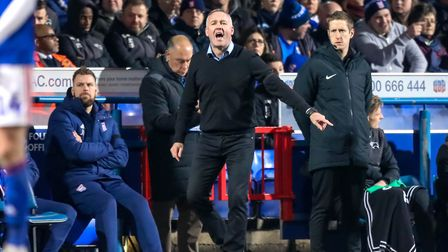 Paul Lambert wants Ipswich Town to have an identity to the way they play. Photo: Steve Waller