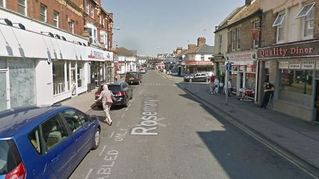 A traffic warden was assaulted in Rosemary Road in Clacton in December Picture: GOOGLEMAPS