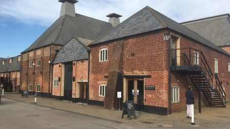 The party is taking place at the Hoffmann Building at Snape Maltings. Picture: PAUL GEATER