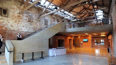 The event is taking place at the Hoffmann Building at Snape Maltings. Pictue: ARCHANT