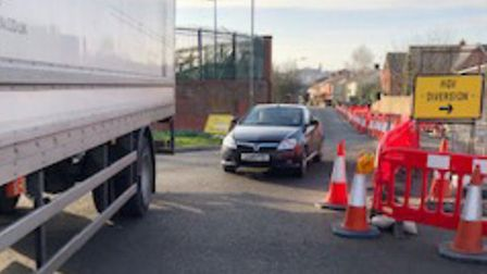Highways officers claimed drivers have been ignoring signs and meeting traffic head on Picture: ESSE