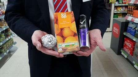 These are items you CAN put into household recycling Picture: RACHEL EDGE