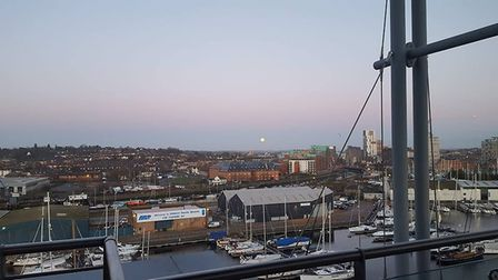 If you took a picture of the moon make sure you send it in Picture: ROBERT EDGE