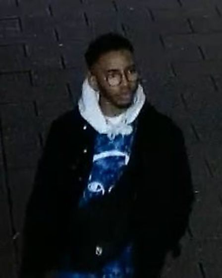 Police are looking to speak to this man, who they believe may have been a witness to the incidents P