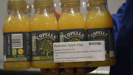 Babergh District Council recommended approval for expansion plans at the Copella juice site in Boxfo