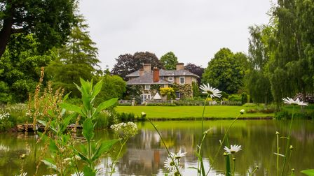 Little Bentley Hall is opening its gardens to the public on June 1 and 2 Picture: MARK RIVERS