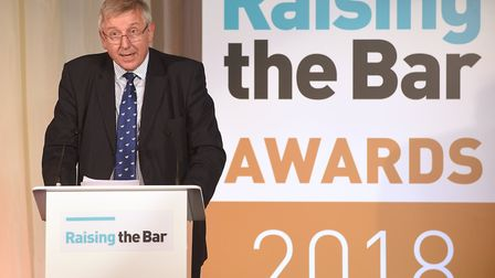 The Raising the Bar awards were one of those included in the Suffolk figure. Cabinet member Gordon J