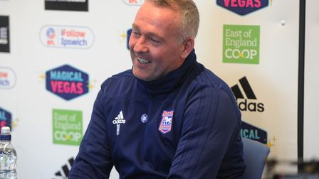 Paul Lambert will speak to the media this afternoon ahead of the game with Wigan Athletic. Picture: