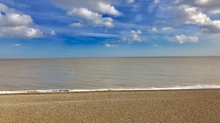 The beautiful beach at Aldeburgh is a great attraction for holidaymakers. Picture: BEST OF SUFFOLK