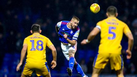 Luke Chambers has made more than 300 appearances for Ipswich Town since joining on a Bosman free tra