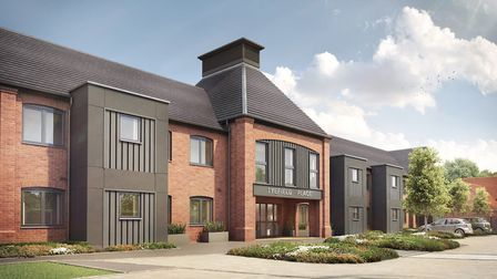 Tyefield Place, Hadleigh cgi. A new development by McCarthy & Stone Picture: MCCARTHY & STONE