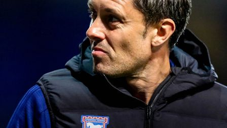 Paul Hurst was in charge of Ipswich Town for just 149 days. Photo: Steve Waller