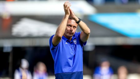 Paul Hurst oversaw just one win in 15 games as Ipswich Town manager. Photo: Steve Waller