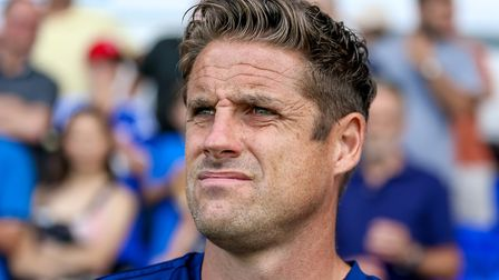 Paul Hurst says he wants to work with assistant Chris Doig again. Photo: Steve Waller