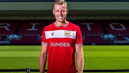 Adam Webster was sold to Bristol City for a starting price of �3.5m. Photo: Bristol City