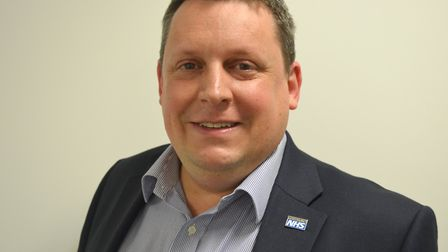 Dr Nick Jenkins, medical director at West Suffolk NHS Foundation Trust Picture: WEST SUFFOLK HOSPITA