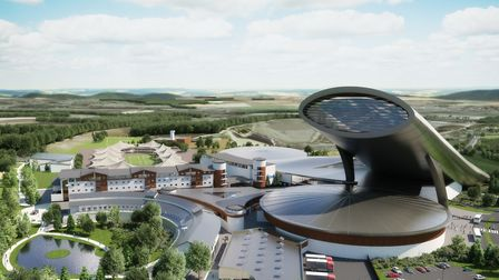 An artist impression of SnOasis. Picture: ONSLOW SUFFOLK/SNOASIS