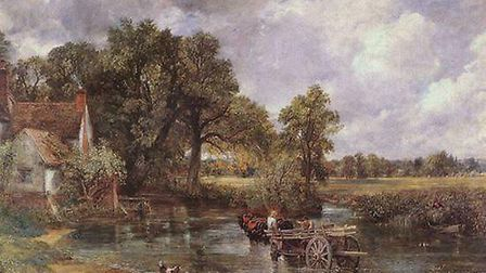 The Hay Wain is an oil on canvas painting by John Constable. It was finished in 1821 and is one of h