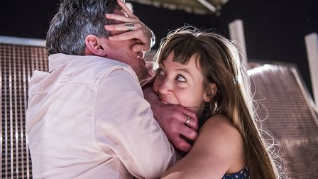 Ben Duke and Solene Weinachter in Juliet and Romeo- A Guide to Long Life and Happy Marriage at Ipswi