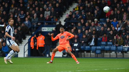 Collin Quaner wastes a good early chance at West Brom Picture Pagepix