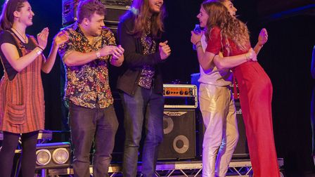 Gabby were crowned winners of BurySOUND 2019 Picture: JAN ROBERTS PHOTOGRAPHY