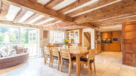 Take a look at this �2.3m six bedroom home in Rougham. Picture: JACKSON STOPS