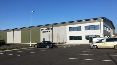 Newmarket Business Park is now fully developed, with the final unit occupied. Picture: NEWMARKET BU