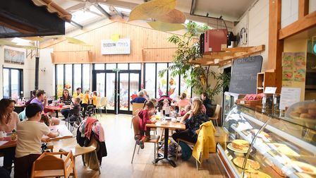 Hollow Trees Farm cafe Picture: GREGG BROWN