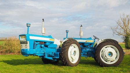 A Doe 130 machine which is up for sale at the next Cheffins vintage machinery sale on April 27 Pict