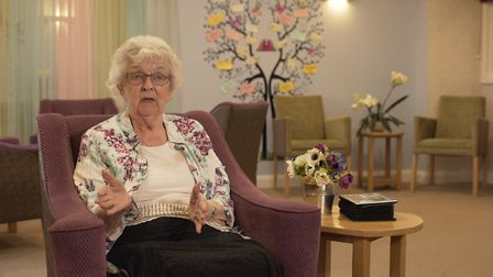 Rita Atkinson said that people should be kind and understanding Picture: CARE UK