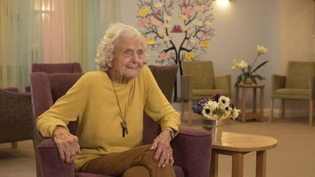 Marjorie O'Hanlon advised women to do what they wanted to do Picture: CARE UK